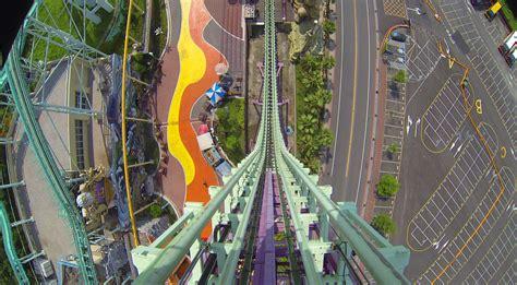 theme park videos big air roller coaster pov awesome vekoma shuttle e da