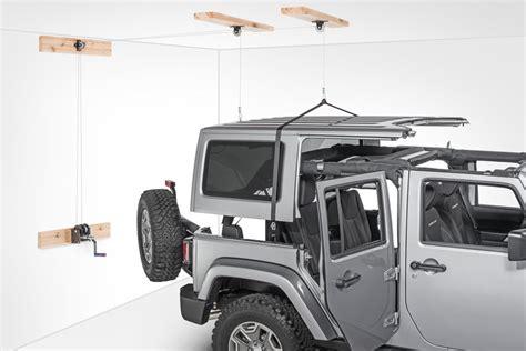 remove  jeep hardtop quadratec