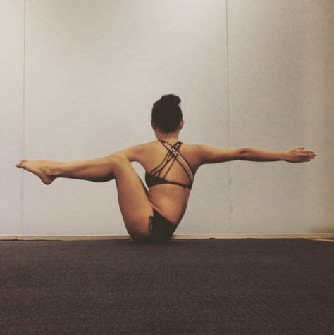 dynamic boat pose 1000 ideas about challenging yoga poses on pinterest