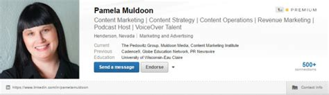 Profile Headline Exles In Linkedin How To Show Your Mba by Contoh Marketing 60 Linkedin Profile Tips For Marketers