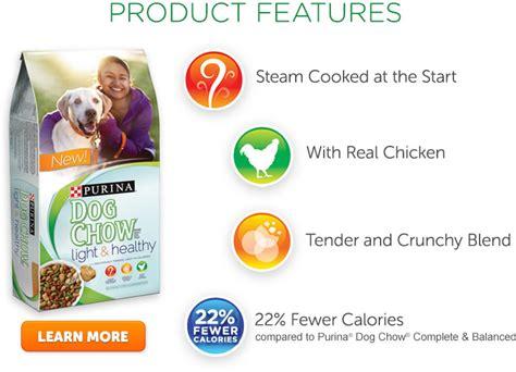 purina light and healthy free sle of purina light healthy dog chow my momma