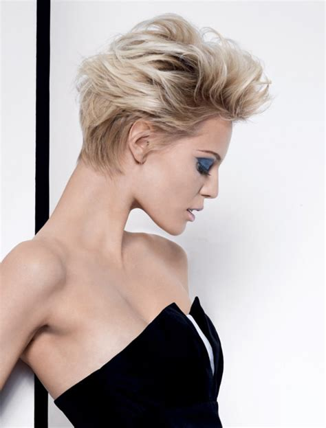 Short Nape Female Haircuts   latest short hairstyles trends 2012 2013 short