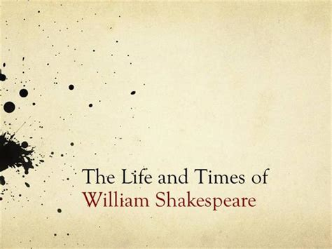 shakespeare powerpoint template edsc 304 and times of william shakespeare authorstream