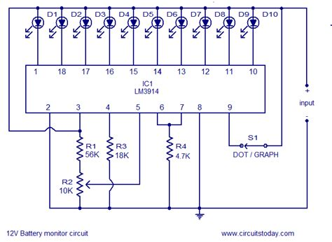 led resistor math switches how to switch dmm between 10 different batteries electrical engineering stack exchange
