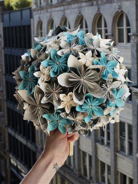 Origami Flower Bouquet Tutorial - best 25 origami flower bouquet ideas on