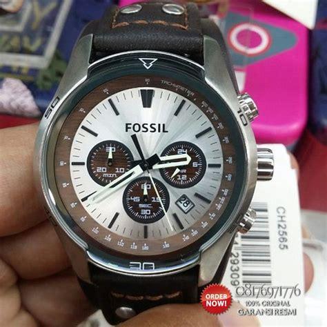 Best Buy Jam Tangan Wanita Guess 2 Time Kulit promo jam fossil ch2565 original best seller katalog jam fossil pria