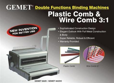 Plastik Jilid F4 mesin jilid binding gemet 602do untuk jilid kawat dan