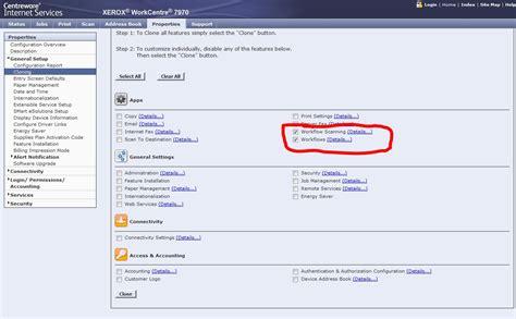 xerox workflow scanning import export workflow templates customer support forum
