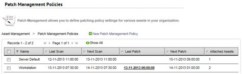 patch management report template patch management policy