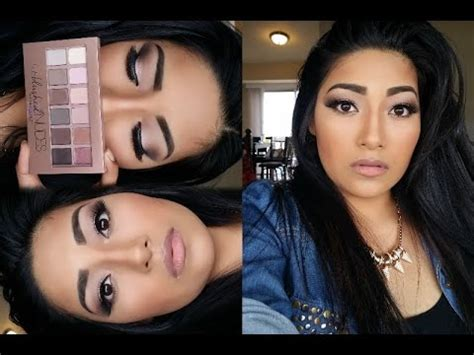 tutorial makeup maybelline indonesia blushed nudes palette tutorial makeup guides