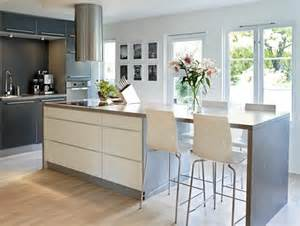 Kitchen Island With Seating For 4 by Modern Kitchen Island With 4 Stool Seating In Arrangement