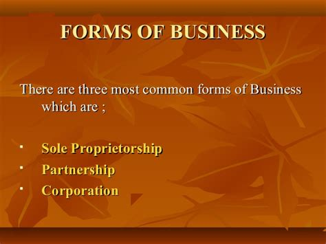 sole proprietorship is the simplest form forms of business 1