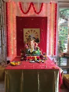 ganpati decoration at home 13 best ganpati decorations images on pinterest