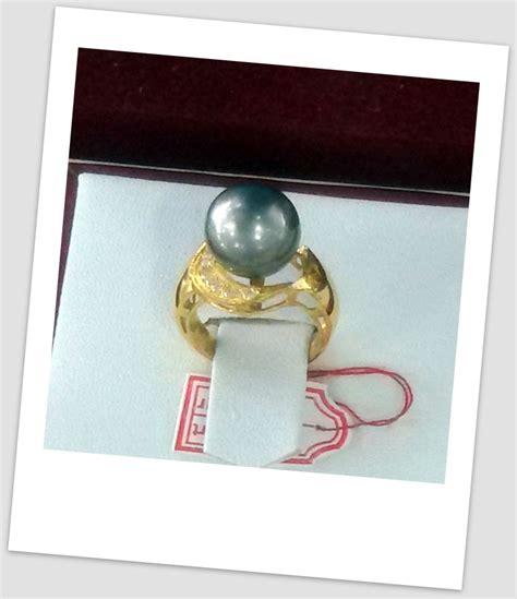 Promo Cincin Mutiara Lombok Air Tawar Khas Sekarbela 1 cincin mutiara emas 0056 harga mutiara lombok perhiasan