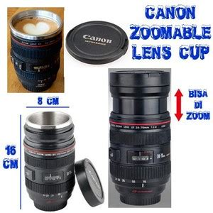 Canon Ef 70 200 Lens Cup Putih jual canon zoomable lens cup rajaunik
