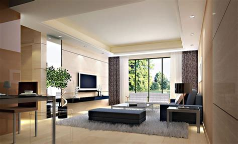 Interiors In by Modern Interiors Designs Of Living Rooms 3d House Free