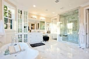bathroom floor cabinets white 34 luxury white master bathroom ideas pictures