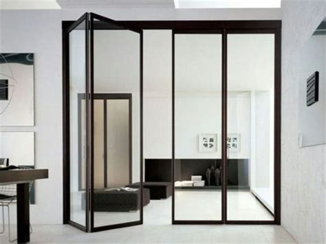 Folding Interior Glass Doors 33 Stylish Interior Glass Doors Ideas To Rock Digsdigs