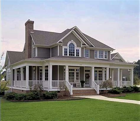 colonial farmhouse with wrap around porch plan 16804wg country farmhouse with wrap around porch