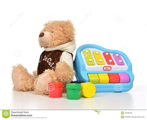 32896 Black White Yellow Collage S M L Top child baby toys collage with colorfull paints teddy