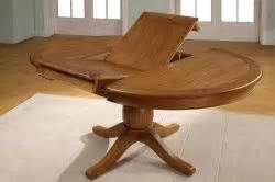 chateau oak round to oval extending dining table amp 4 or 6