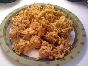 just christmas haystacks chow mein noodle candy