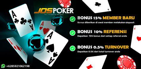 jospoker agen bandar poker terpercaya  terbesar