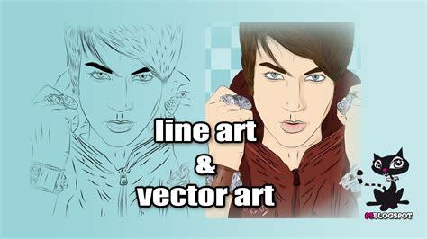 tutorial photoshop vectorizar imagen vectorizar una imagen en photoshop line art y coloreado