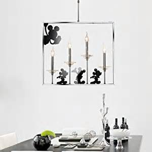 mickey mouse ceiling light fixture new modern crytal mouse dining room