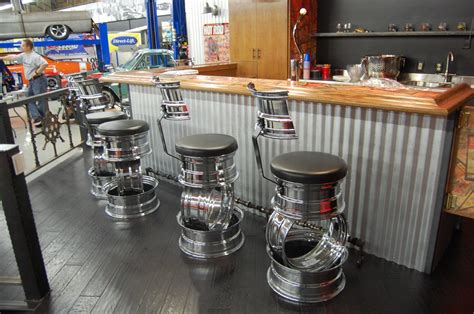 Car Stool by Awesome Stuff Made Out Of Car Parts