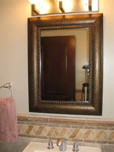 frames for mirrors in bathroom mirror frame kit traditional bathroom mirrors salt