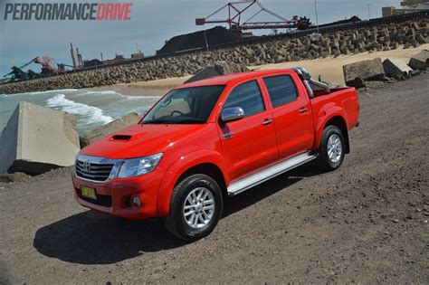 red toyota 2013 toyota hilux sr5 velocity red
