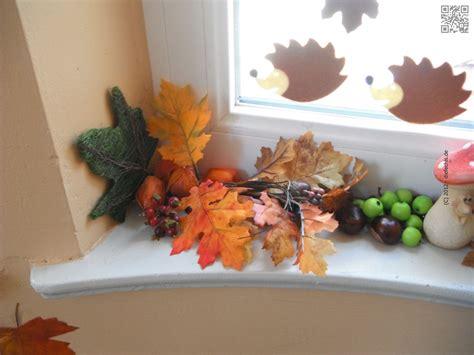 Herbstdeko Fenster Draussen by Der Herbst Ist Da 171 Der Fechis