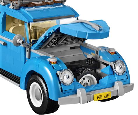 lego creator volkswagen beetle  der vw kaefer kommt zusammengebaut