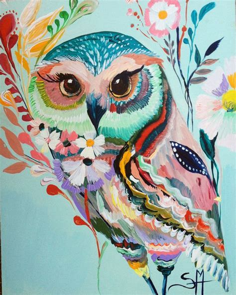 colorful owls 25 best ideas about owl on colorful owl