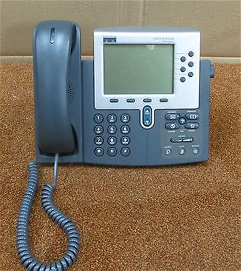 Voip Desk Phone by Cisco Cp 7960g 7960 7900 Series Ip Voip Desk Phone