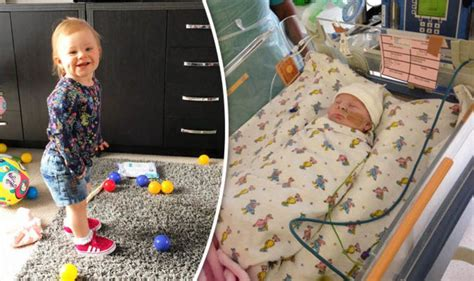 miracle baby born  intestines  body brave tot