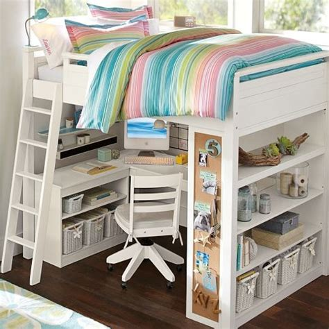 sleep and study loft bed sleep study loft pbteen favorites for the home