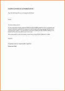 Permission Letter To A 10 Sle Authorization Letter Granting Permission Insurance Letter