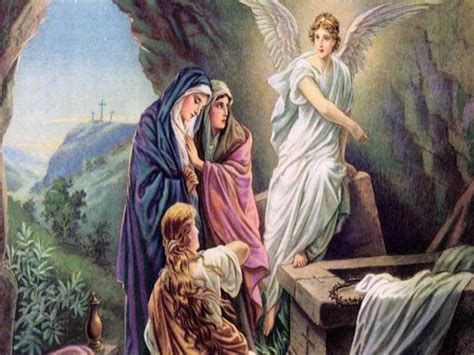 jcm jesus empty tomb and the angels