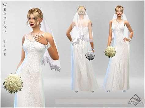 Wedding Bell Sims Freeplay by Wedding Time Dress By Devirose At Tsr 187 Sims 4 Updates