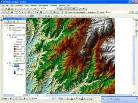 qgis hydrology tutorial curso de arcgis 10 3 tutorial completo parte 1 de 7