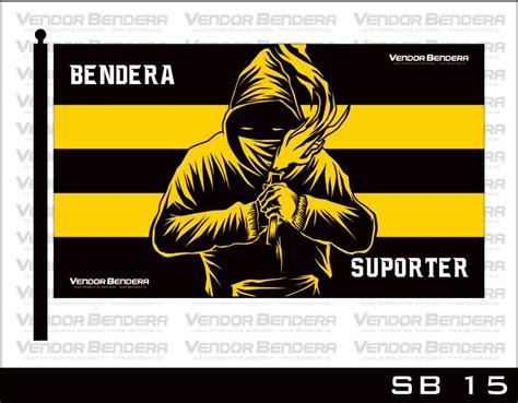 gambar desain bendera ultras siap cetak  komunitas