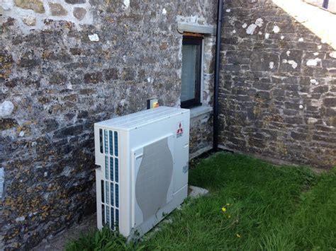 mitsubishi air source heat problems air source heat installation in castlemartin