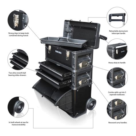 tool cabinets on wheels 317 us pro tools black mobile rolling chest trolley cart