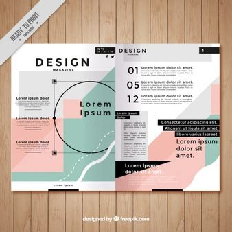 Magazine Vectors Photos And Psd Files Free Download Create A Magazine Article Template