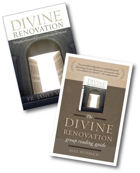 divine renovation bringing your divine renovation from a maintenance to a missional parish with group reading guide garratt