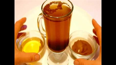 honey and cinnamon drink youtube
