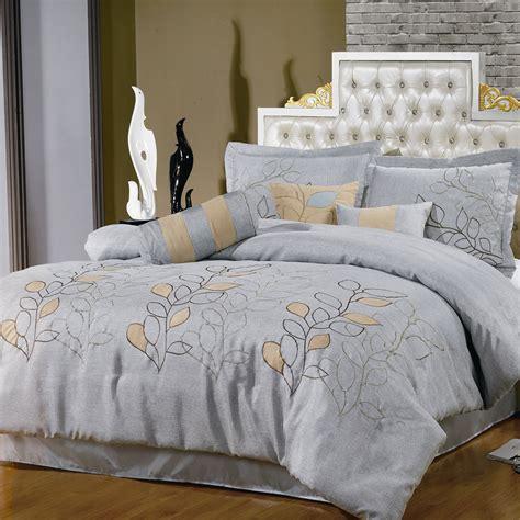 silver comforter set silver linen comforter set