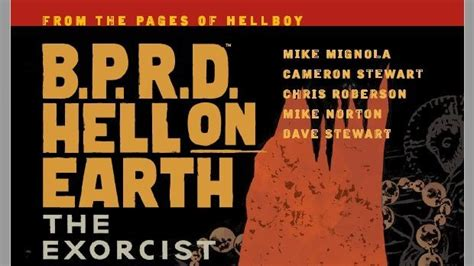 b p r d hell on earth volume 1 books b p r d hell on earth volume 14 the exorcist comic